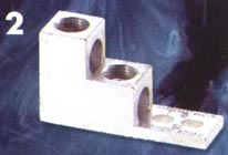 stacked electric cable lug lugs 350t-2 600t-2