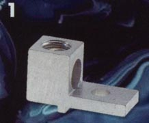 lug with turn prevent 600 volts rated for copper or aluminum conductors