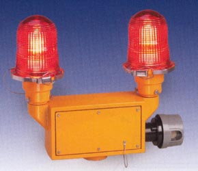 810de faa approved lighting red aviation obstruction lighting lights dual lamps optional photo-electric photo electric cell