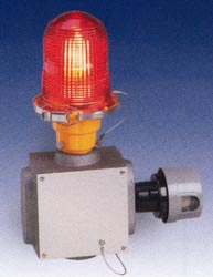 model 810se faa approved lighting red aviation obstruction light federal signal corporation typical applications include antennas, smoke stacks, skyscrapers