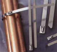 stainless steel ties suited for hazardous environments