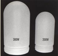 VAPORTITE FROSTED GLASS for vapor proof lighting 300w and 200w