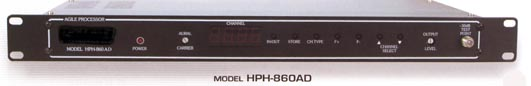 analog to digital agile frequency processor headend head-end head end hph-860ad