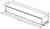 universal max 3 sign ballasts dimensions