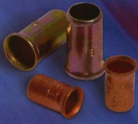 Copper crimp sleeves are designed for easy installation and provide and exceptional connection. COPPER CRIMP SLEEVE WIRE CONNECTORS