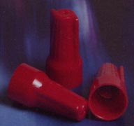 WINGED WIRE CONNECTORS N TYPE Temperature rating 105°C[221°F]. Made from Nylon 6/6 [POLYIMIDE 66].