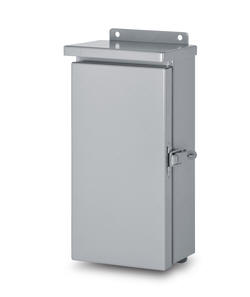 Austin small hinge cover NEMA 3R outdoor weatherproof weather-proof galvanized steel cabinets are Underwriters Laboratories Listed and designed for outdoor use primarily to provide a degree of protection against rain, sleet, and damage from external ice formation.