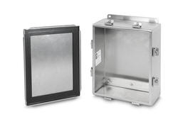 JIC NEMA 4x Clamp Cover Stainless Steel Boxes Cabinet Enclosure Housing